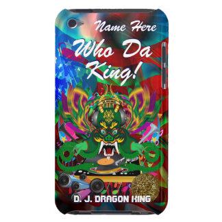 Le mardi gras D J Dragon le Roi vue veuillez lais Coque iPod Touch Case-Mate