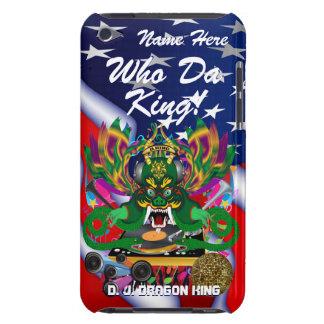 Le mardi gras D J Dragon le Roi vue veuillez lais Étui Barely There iPod