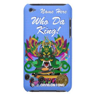 Le mardi gras D J Dragon le Roi vue veuillez lais Étuis iPod Touch