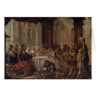 Le mariage chez Cana, 1660 Carte De Vœux