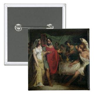 Le mariage d'Alexandre le grand et le Roxana Pin's
