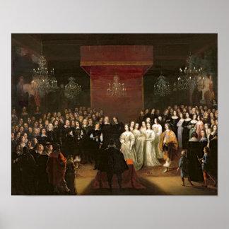 Le mariage de Frederick William Affiches