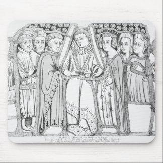 Le mariage de Henry VI et Margaret de l'Anjou Tapis De Souris