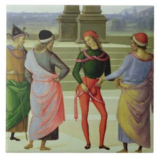 Le mariage de la Vierge, coordonnée de quatre homm Grand Carreau Carré