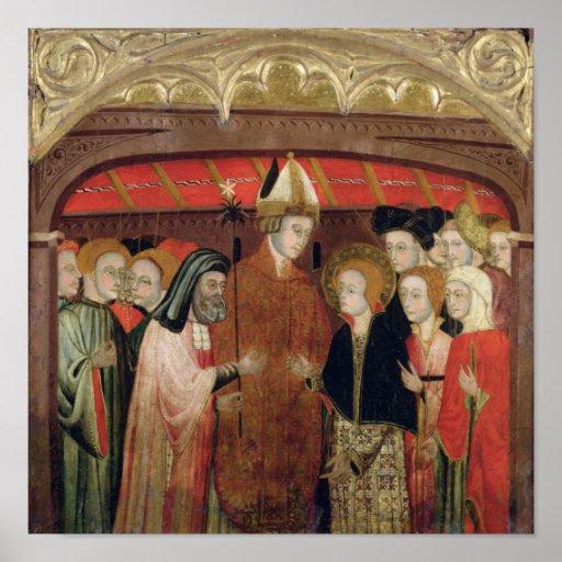 Le mariage de la Vierge Posters