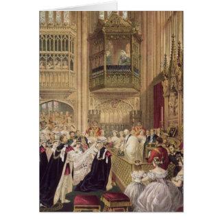 Le mariage de l'Edouard VII Carte De Vœux