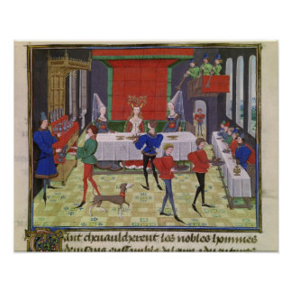 Le mariage de Renaud de Montauban et de Clarisse Posters