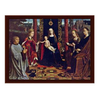 Le mariage mystique de St Catherine Cartes Postales