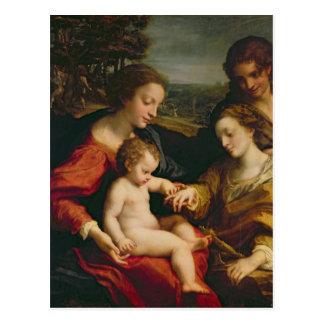 Le mariage mystique de St Catherine de Cartes Postales