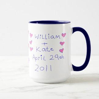 Le mariage royal mugs