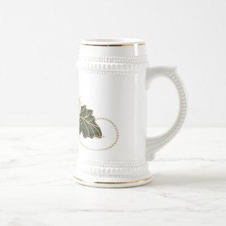 Le mariage vintage s'est levé tasse à café