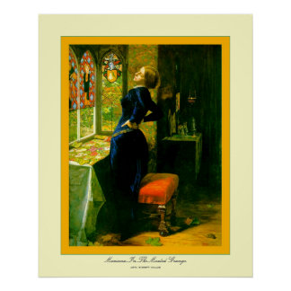 Le Marianne dans le Grange~John Moated Everett Posters