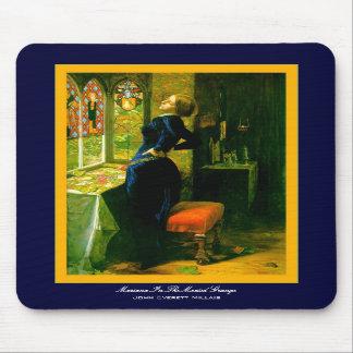 Le Marianne dans le ~John Moated Everett Millais d Tapis De Souris