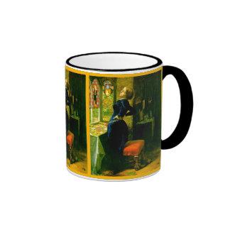 Le Marianne dans le ~John Moated Everett Millais Mug Ringer