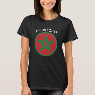 Le Maroc - T-shirt marocain de femmes de drapeau