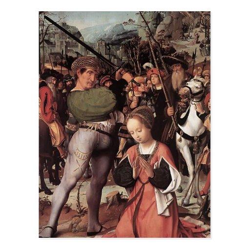 Le martyre de St Catherine avant janvier Provoost Cartes Postales