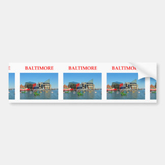 le Maryland, cadeaux, présent, Baltimore Autocollants Pour Voiture