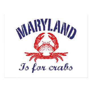 Le Maryland marche en crabe la carte