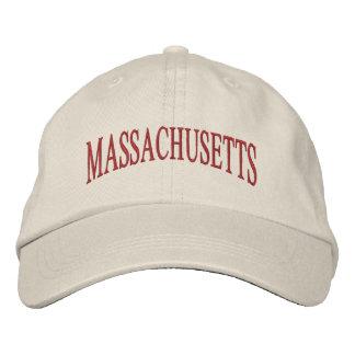 Le Massachusetts a brodé le casquette