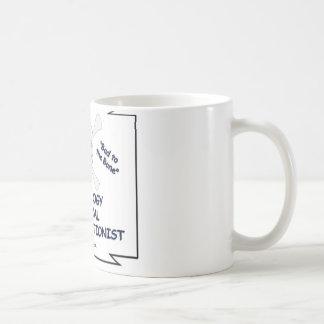 Le mauvais au Transcriptionist médical de Mug