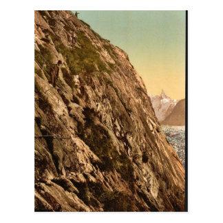 Le Mauvais Pas, vallée de Chamonix, cru pH de la F Cartes Postales