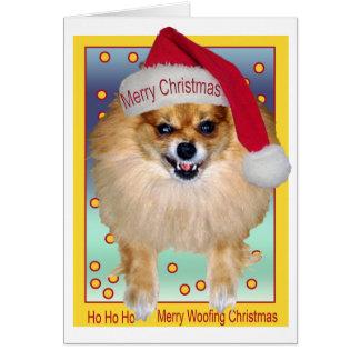 Le mauvais Père Noël de la carte | aboyant Noël