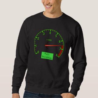 Le maximum revs le sweatshirt des hommes de