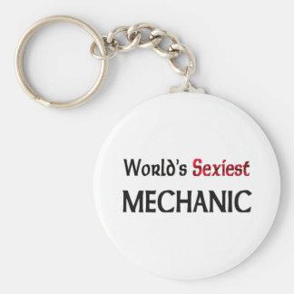 Le mécanicien le plus sexy du monde porte-clé rond