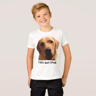Le meilleur ami d'un enfant ! T-shirt jaune de