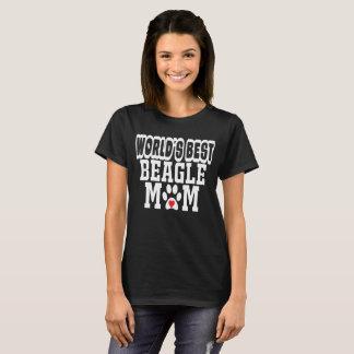 Le meilleur amoureux des chiens de maman du beagle t-shirt