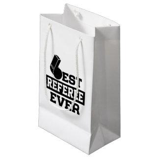 Le meilleur arbitre jamais petit sac cadeau
