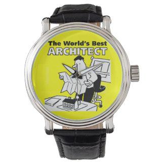 Le meilleur architecte du monde montres bracelet