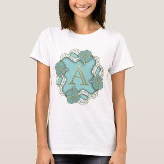 Le meilleur arrière - plan de monogramme t-shirt