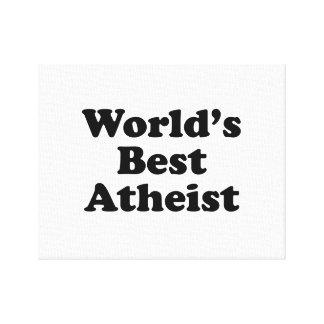 Le meilleur athée du monde toile