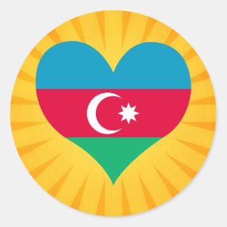 Le meilleur Azerbaïdjan mignon de vente Sticker Rond