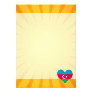 Le meilleur Azerbaïdjan mignon de vente Carton D'invitation 12,7 Cm X 17,78 Cm