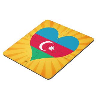Le meilleur Azerbaïdjan mignon de vente Dessous De Verre Puzzle