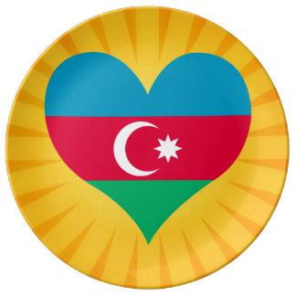 Le meilleur Azerbaïdjan mignon de vente Assiette En Porcelaine