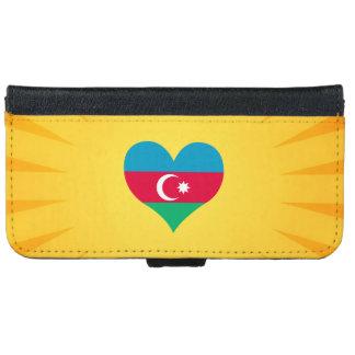 Le meilleur Azerbaïdjan mignon de vente Coque Avec Portefeuille Pour iPhone 6