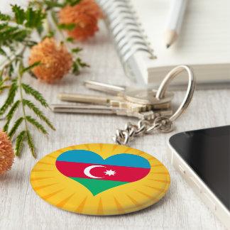 Le meilleur Azerbaïdjan mignon de vente Porte-clé Rond