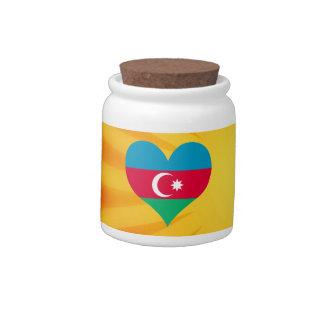 Le meilleur Azerbaïdjan mignon de vente Jarres À Bonbons