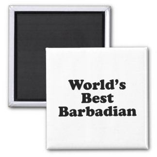 Le meilleur Barbadien du monde Aimant
