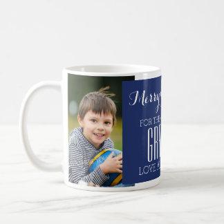Le meilleur bleu de tasse de Noël de grand-maman