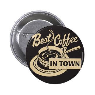 Le meilleur café en ville pin's