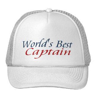 Le meilleur capitaine des mondes casquettes de camionneur