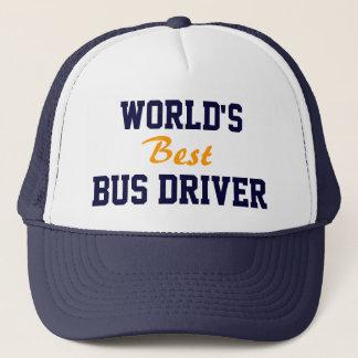 Le meilleur casquette de chauffeur du bus du monde