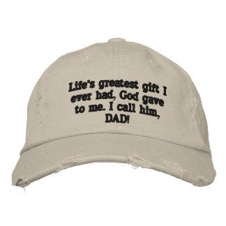 Le meilleur casquette de fête des pères jamais ! casquette brodée