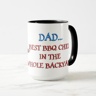 Le meilleur chef de BBQ de PAPA Mug