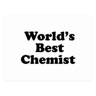 Le meilleur chimiste du monde cartes postales