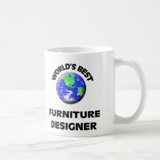 Le meilleur concepteur des meubles du monde mug blanc